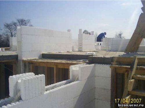 Строительство дома с несъемной опалубкой своими руками